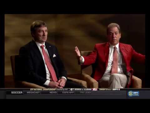 2018 SECN - A Championship Conversation - Saban and Smart (HD)