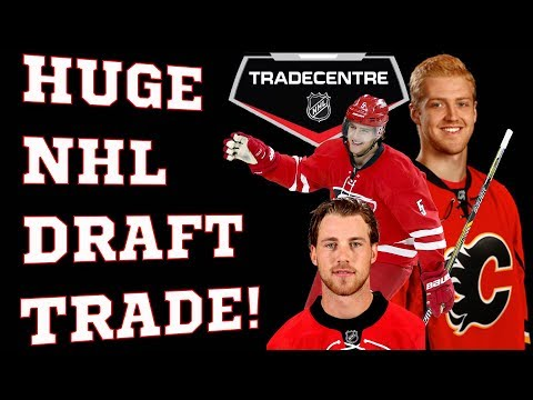 Hurricanes trade Hanifin and Lindholm to the Flames for Hamilton, Ferland, and Fox! MONSTER TRADE!