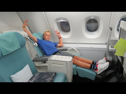 KOREAN AIR PRESTIGE CLASS review