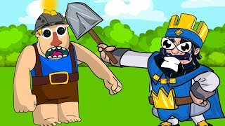 Clash Royale Animation #14: MINER AND THE KING (Parody)