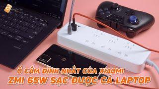 Trên Tay Ổ Cắm Cực Đỉnh Của Xiaomi ZMI - Tích Hợp Sạc Nhanh 65W USB-C, 6 Cổng 220V Tiện Lợi!