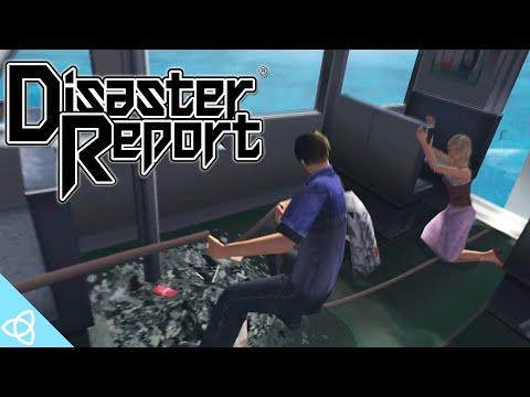 Disaster Report (PS2) - Full Game Walkthrough [SOS: The Final Escape / Zettai Zetsumei Toshi]