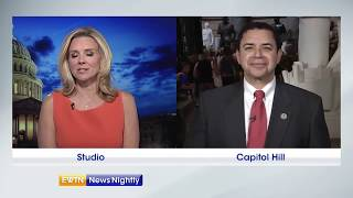 Rep. Henry Cuellar speaks on the tracker trailer discovered in Texas crammed with immigrants-ENN 201