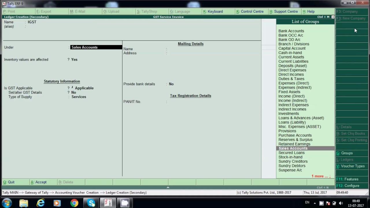 service invoices