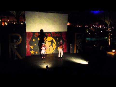 Resta Reef Resort June 2013 -- Dance Show -- Small Tango From Shakira