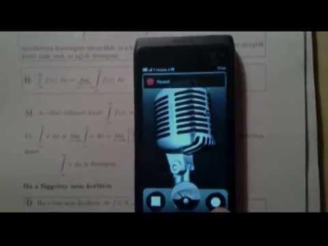 Nokia N9 Recorder
