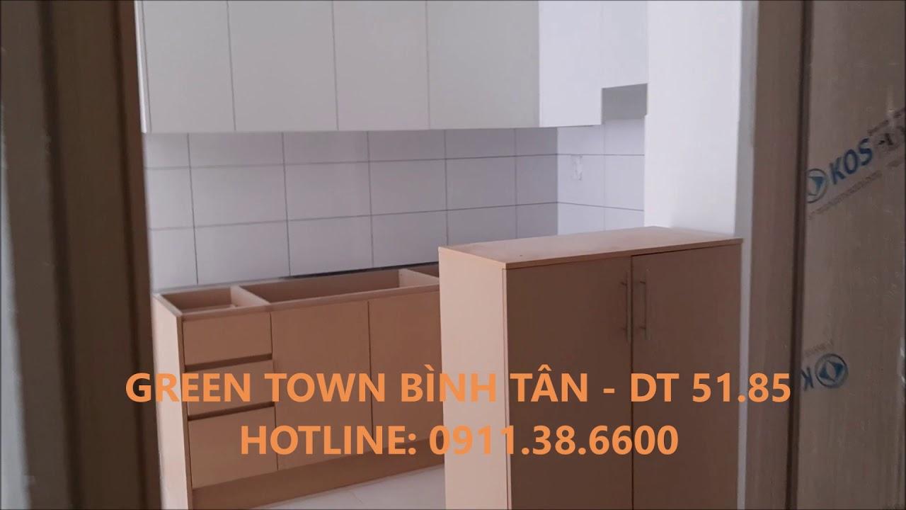 (20.09.2019) Căn hộ Green Town Bình Tân, DT 51.85m2 – LH: 0911386600