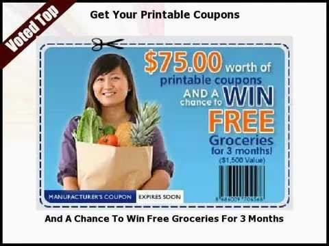 online coupons for groceries