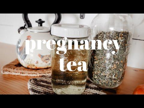 PREGNANCY HERBAL TEA RECIPE | Natural Health For Pregnancy + Labor