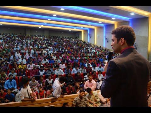 Inspiring talk by Athar Aamir Khan, IAS, UPSC 2015-16- All India 2nd Rank at YUVAAN, Ahmednagar