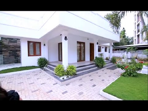 2000 square feet contemporary style home worth 45 lakh for 2000 sq ft homes