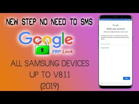 FRP 2019 ALL SAMSUNG S7 S8 S9 BYPASS GOOGLE ACCOUNT ALL SECURITY PATSH LEVELS