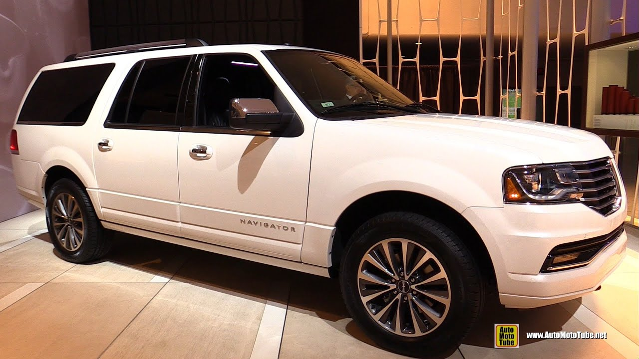 2015 Lincoln Navigator L   Exterior And Interior Walkaround   2015 Detroit  Auto Show   YouTube