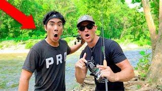 1Rod1Reel Takes Me Fishing! (TINY CREEK)