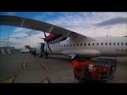 FLIGHT REPORT | AirSERBIA ATR 72-500 | ECONOMY CLASS | Podgorica to Belgrade