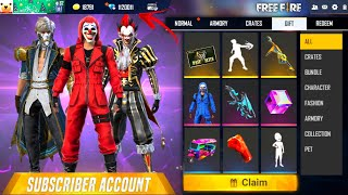 Buying 15,000 Diamonds In Subscriber Account Got All Rare Bundles Saitama Fist & Emotes In Free Fire