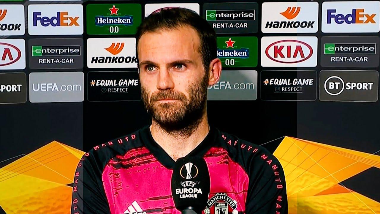 Juan Mata React to win   Manchester United vs Copenhagen Post-match