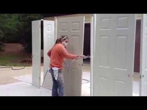 Painting Interior Doors Interior House Painting Youtube