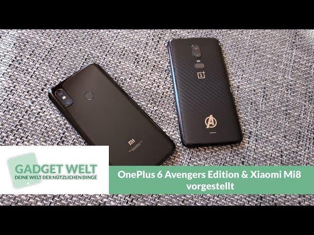 OnePlus 8 und Xiaomi Mi8 vorgestellt