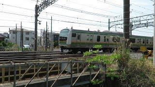 東海道本線・E231系&E233系大船駅藤沢駅近辺(JR Tokaido main Line)