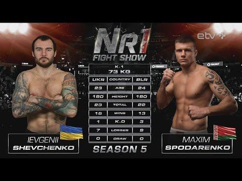 Ievgenii Shevchenko vs Maxim Spodarenko Nr1 Fight Show 13 May 2016 Tallinn Estonia