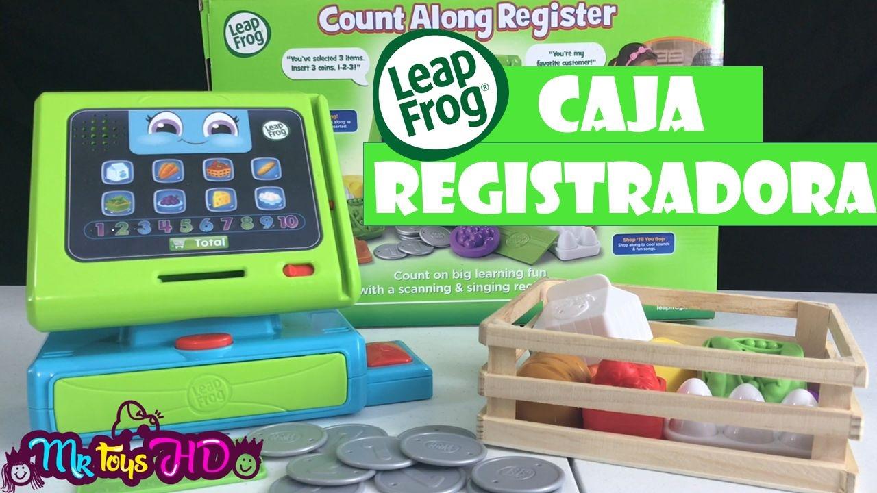 Cash Para Leap Register Caja Registradora Frog Interactivos Niños Juguetes qMzSVpUG