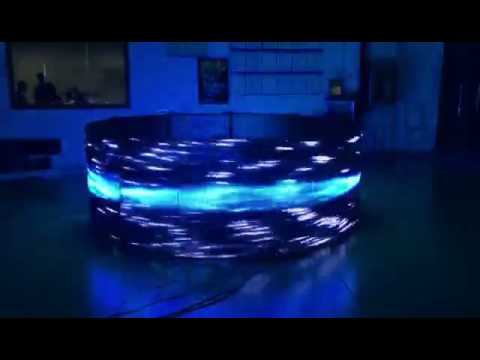 LED thin film display screen