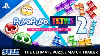 Puyo Puyo Tetris 2 - Ultimate Puzzle Match Trailer | PS4