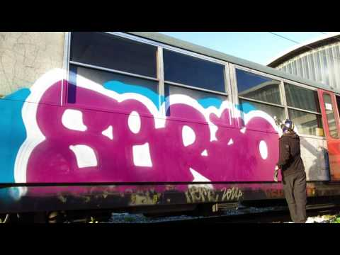 GRAFFITI TRAIN GOPRO // TRACKSIDE MEMORIES