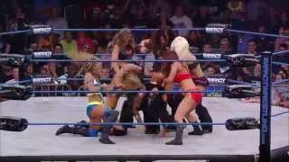 Knockouts Battle Royal for the #1 Contender to the Title (Sept. 17, 2014)