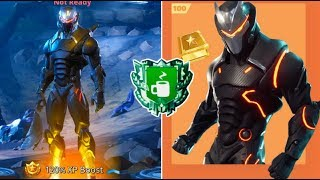 FORTNITE BATTLE ROYALE *NEW* OMEGA SKIN FULLY UPGRADED