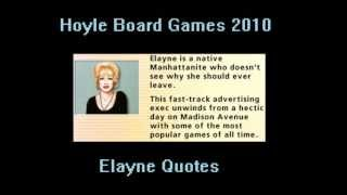 Hoyle Board Games 2010 - Elayne Quotes