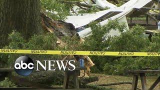 2 adults, 7 kids injured after lighting strike l ABC News