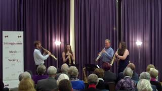 Borealis Saxophone Quartet - Recital Sampler (Recorded live at Sittingbourne Music Society)