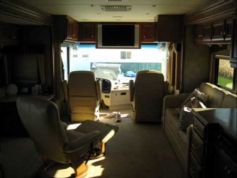 Tour Bus For Sale >> RockStar in look tour bus country coach 2006 - YouTube
