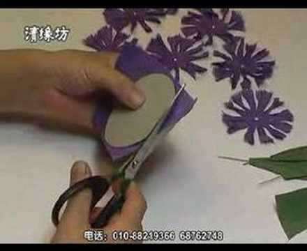 Red carnation paper flower making kit part a youtube for Fomic sheet decoration youtube