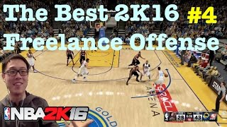 NBA 2K16 Tutorial How to score + How to break defense with Warriors Freelance Offense 2K16 Tips #64