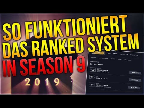 So Funktioniert das Ranked System in Season 9! [League of Legends] [Deutsch / German] thumbnail