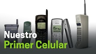 ¿Aún conservas tu primer teléfono celular?