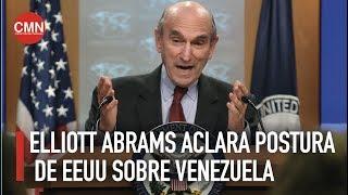 Elliott Abrams define postura de EEUU sobre Venezuela Elliott Abrams, enviado especial de Estados Unidos para Venezuela define la postura de la administracin Trump sobre el pas sudamericano.... Elliott Abrams ...