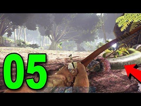 ARK: Survival Evolved - Part 5 - GIANT SNAKE ATTACK