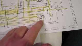 how to read an automotive wiring diagram (porsche 944) - youtube  youtube