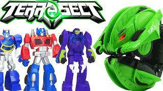 Terrasect R/C Rolling Insect Bowling for Transformers Rescue Bots in SLOW MO!