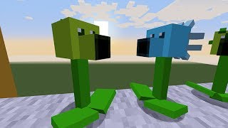 Minecraft Vs Plants Vs Zombies Guisantes Vs Zombies
