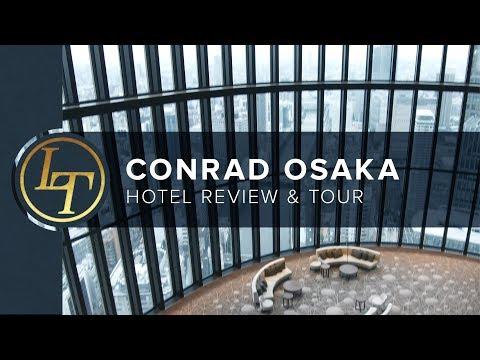 Infinite City Views: Conrad Osaka, Japan • Hotel Review & Tour