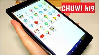 Планшет Chuwi hi9 новинка для игр. играбельные характеристики Android 7.0 2560x1600 2.5 К экран