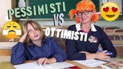 OTTIMISTI  VS PESSIMISTI A SCUOLA (Differenze) - MASCHI VS FEMMINE - Canale Nikita