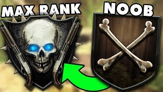 ROAD TO SHOTGUN RANK (MAX RANK) #2 Call of Duty Black Ops 2 Zombies