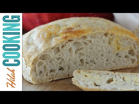 Easy No-knead Bread Recipe  Hilah Cooking Ep 18