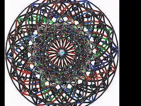 9 x 9 matrix of Consciousness, multidimensional light, and matter